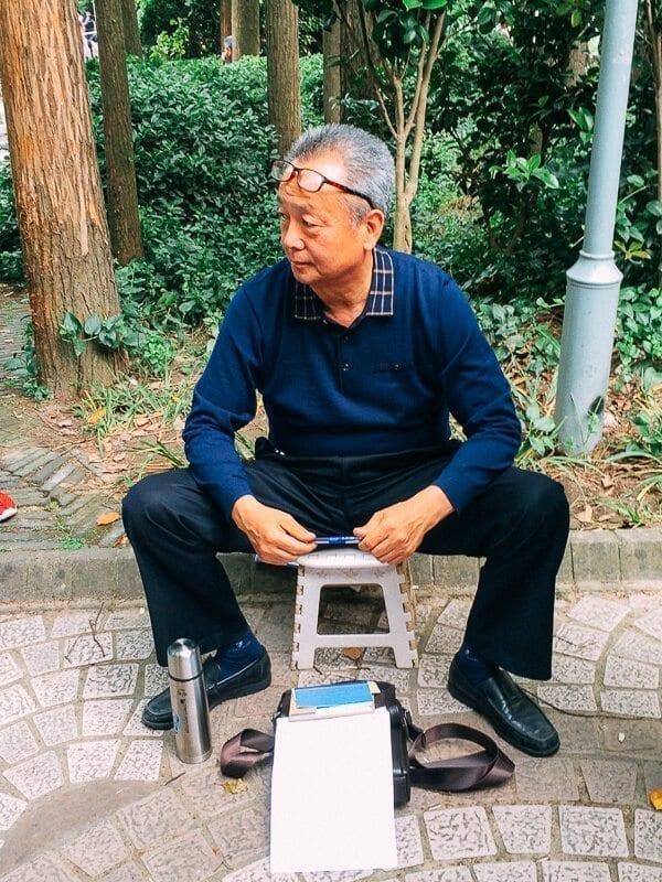 Seeking Love in Shanghai: The People's Park Matchmaking Corner, by thewoksoflife.com