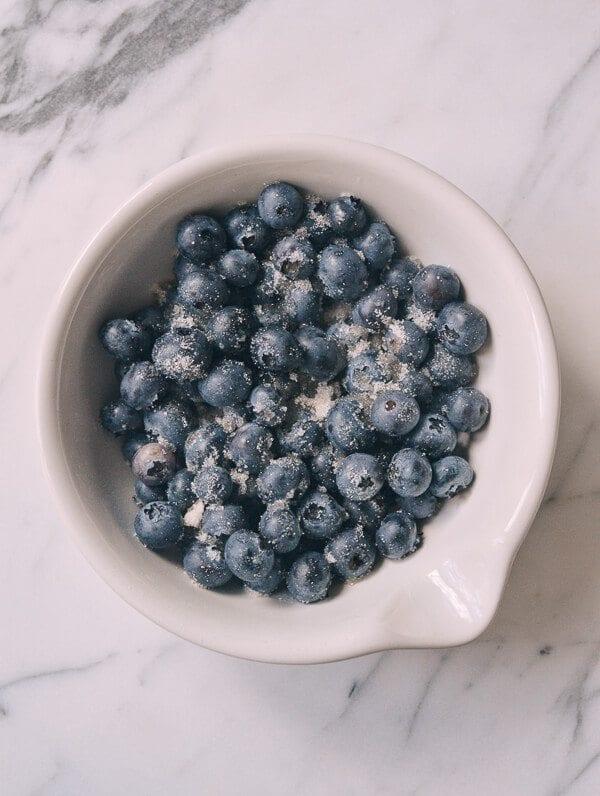 Blueberry Pancakes, by thewoksoflife.com
