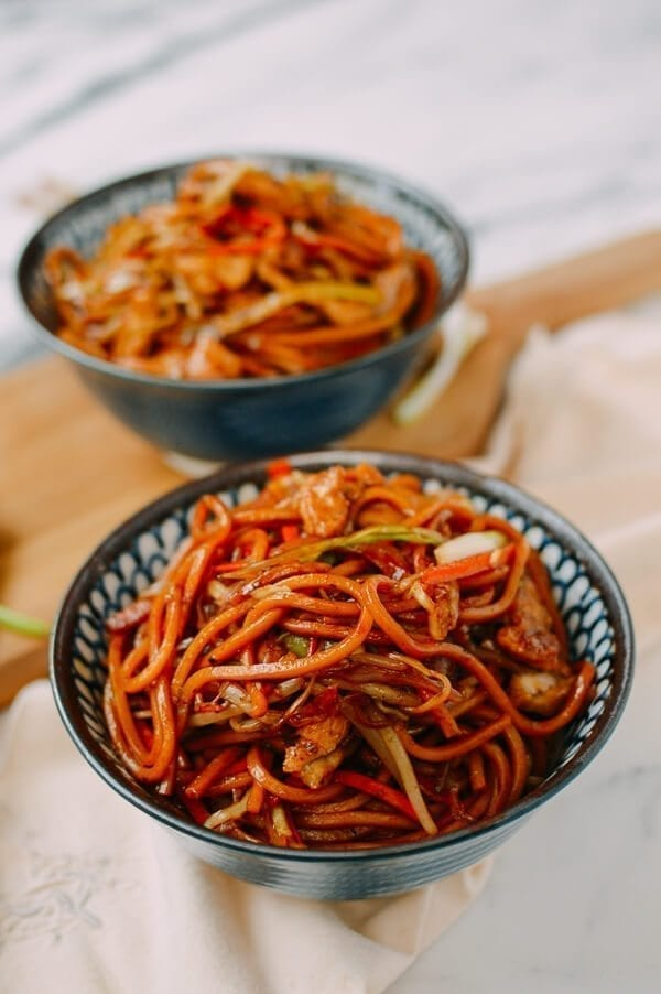 Chicken Lo Mein, by thewoksoflife.com
