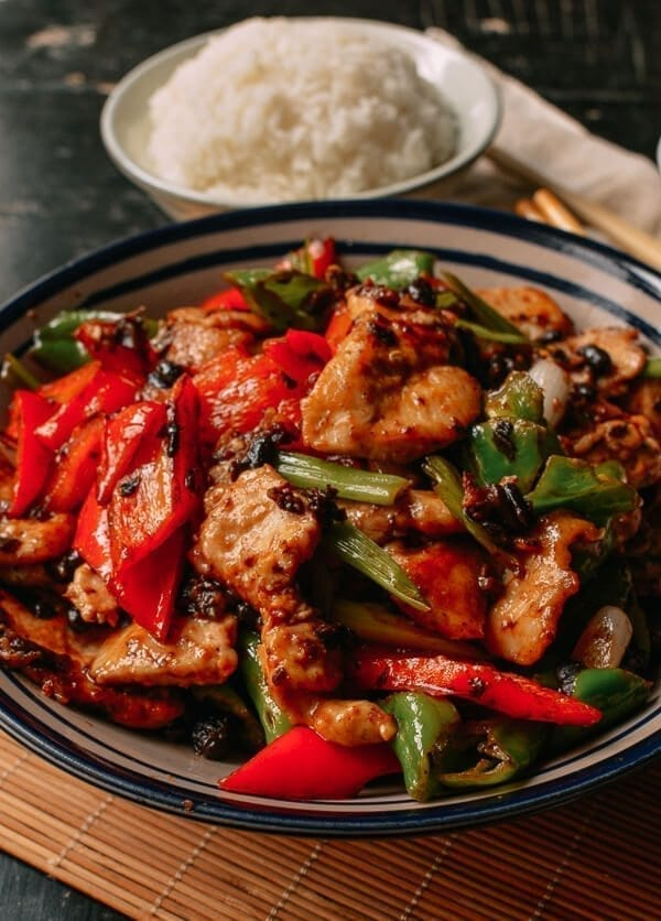 Chicken with Black Beans, by thewoksoflife.com