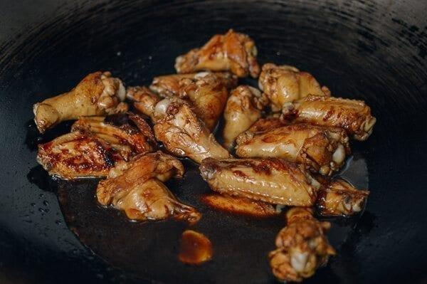 Coca Cola Chicken Wings, by thewoksoflife.com