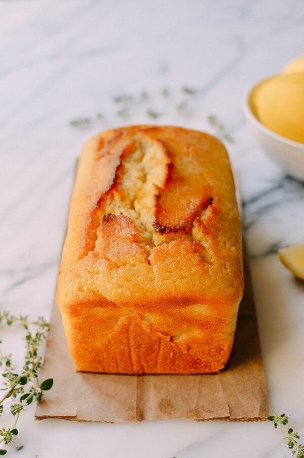 Dairy-free Lemon Cake, by thewoksoflife.com