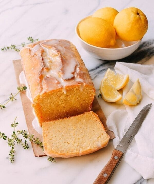 Dairy-free Lemon Cake, by thewoksoflife.com