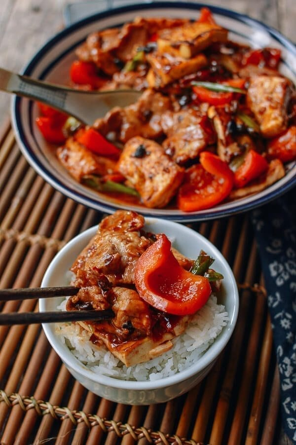 Hunan Pork and Tofu, by thewoksoflife.com