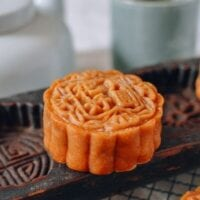 Lotus Mooncakes with Salted Egg Yolks