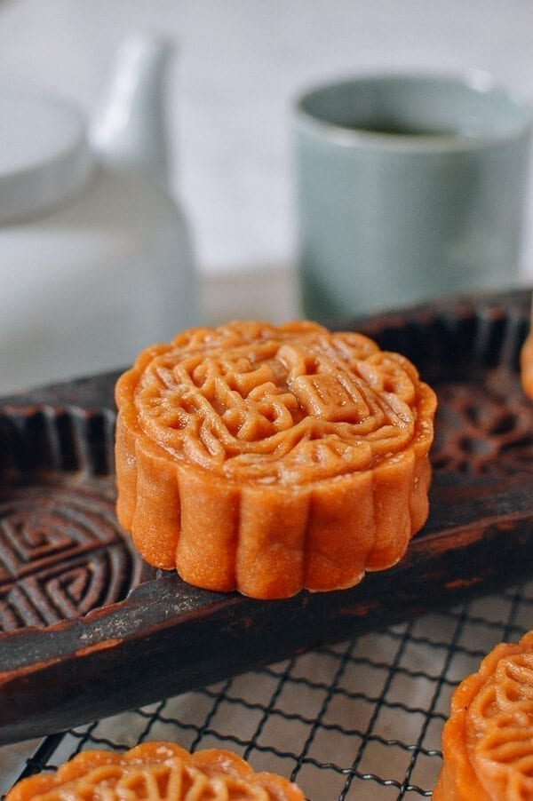 bfb88a9f7afc Lotus Mooncakes with Salted Egg Yolks - The Woks of Life