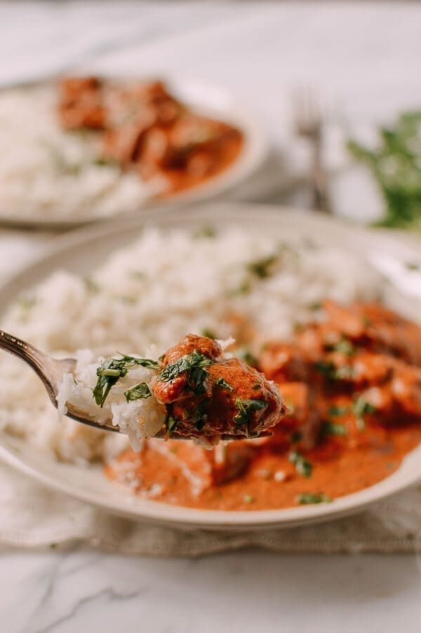 Chicken Tikka Masala, by thewoksoflife.com
