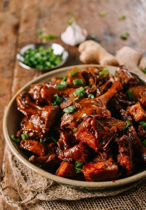 Braised Duck with Taro, by thewoksoflife.com