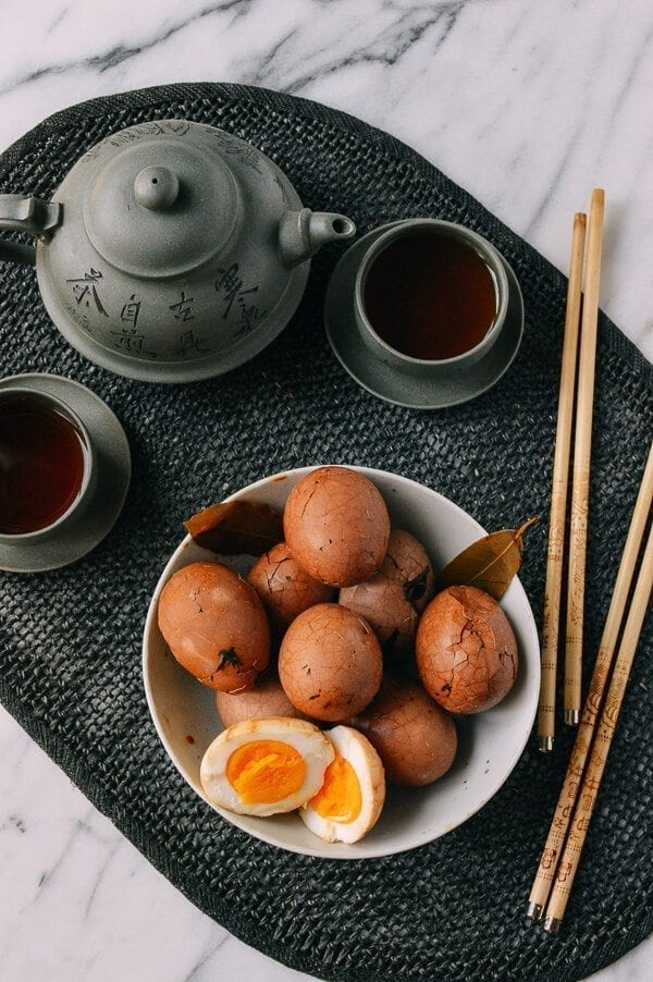 Chinese Tea Eggs, An Authentic Recipe