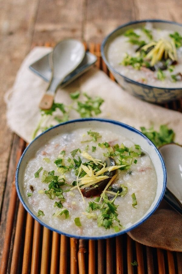25 Last minute meals - 20-Minute Congee Recipe , by thewoksoflife.com