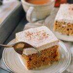 Pumpkin Tres Leches Cake, thewoksoflife.com