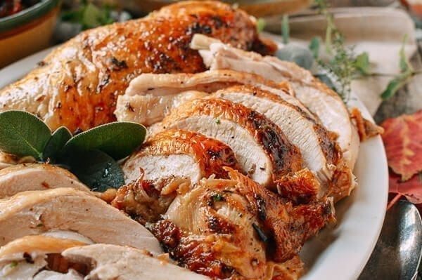 ... stuffed roast turkey breast recipes dishmaps roasted stuffed turkey