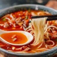 Shanghai Hot Sauce Noodles (Lajiang Mian)