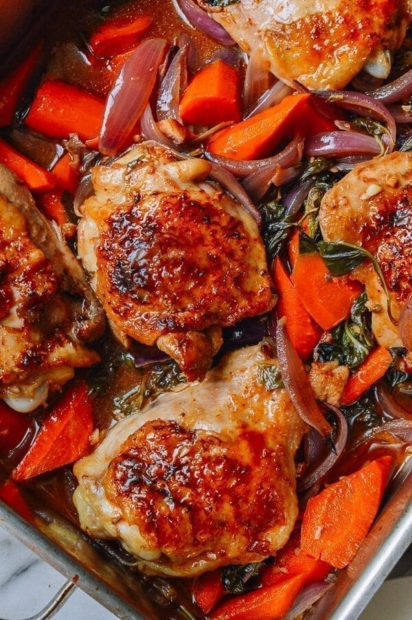 chicken thighs oven thai roasted chicken thighs recipe the woks of 13024