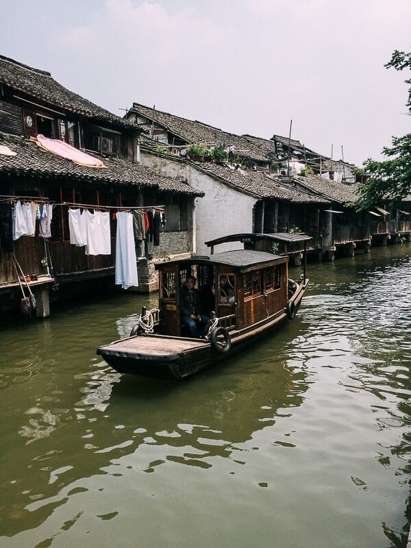 Wuzhen: Canals, Wine, and Eats
