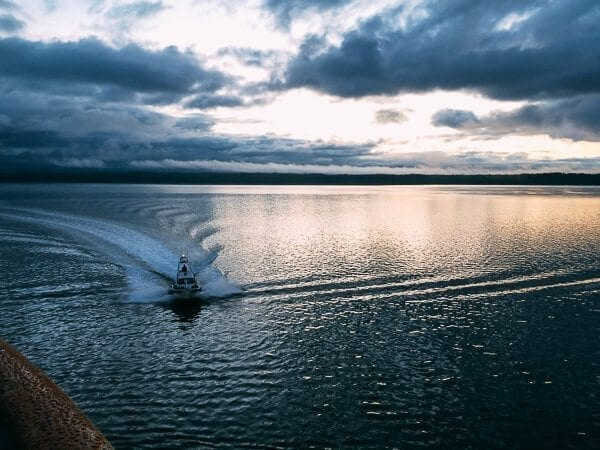 Glacier Bay Ranger Boat