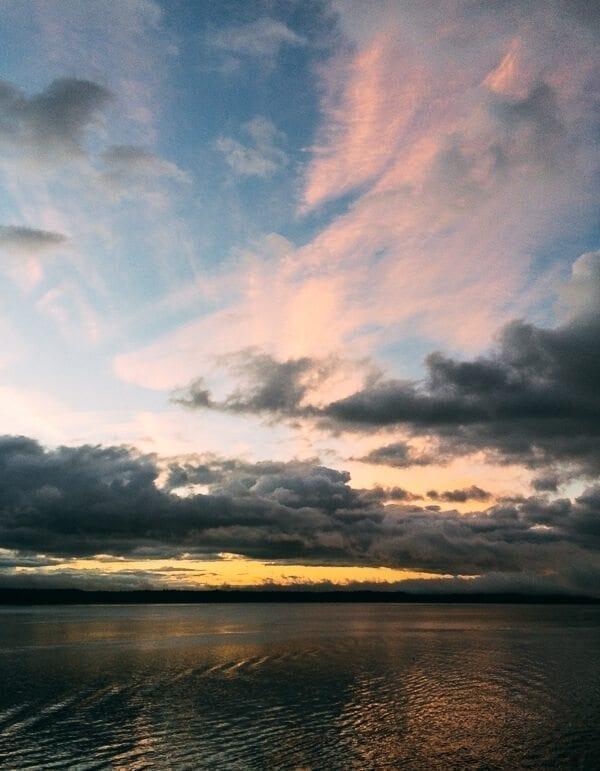 Sunrise Glacier Bay