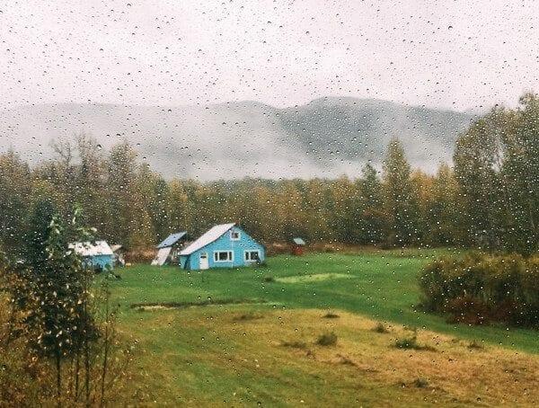 Alaska Blue House