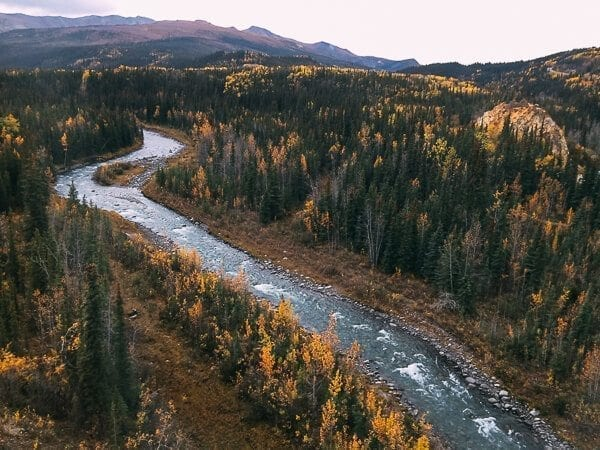 Alaska Denali River