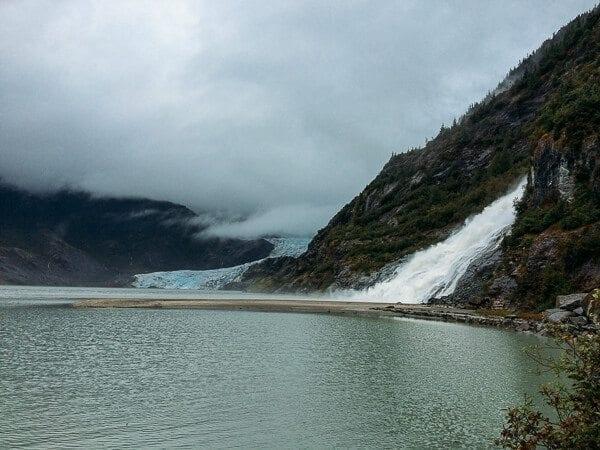 Mendenhall Glacier and Nugget Falls