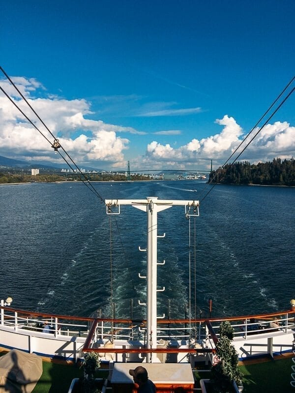 Cruise Out of Vancouver