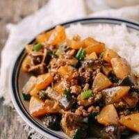 Easy Braised Turnip Rice Bowls