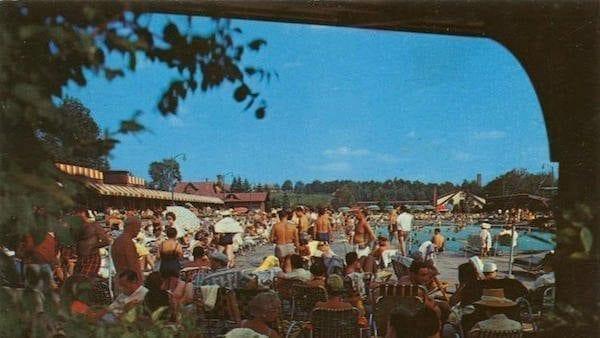Grossinger's Swimming Pool