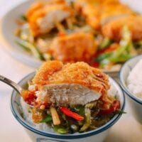 Polynesian Chicken - A Retro Chinese Restaurant Dish, by thewoksoflife.com