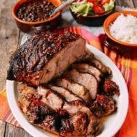 Pernil-Style Roast Pork
