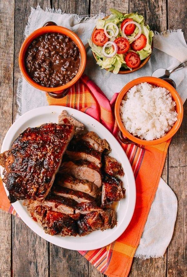 Pernil-Style Roast Pork, by thewoksoflife.com