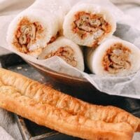 Shanghai Breakfast Rice Rolls (Ci Fan 粢饭)