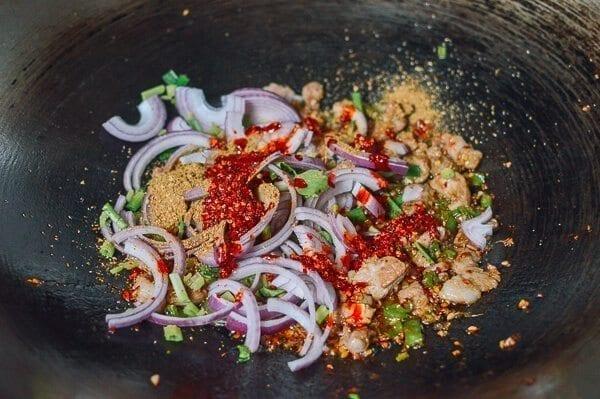 Spicy Cumin Lamb Biang Biang Noodles, by thewoksoflife.com