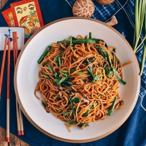 Long Life Noodles Yi Mein 伊面 The Woks Of Life