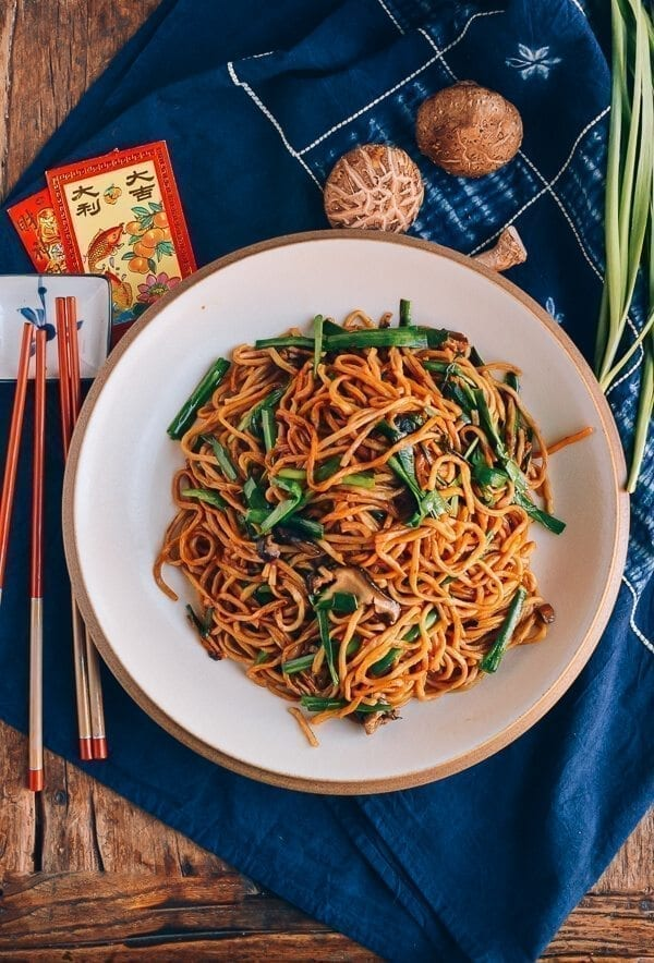 Chinese New year recipes - Long Life Noodles, by thewoksoflife.com