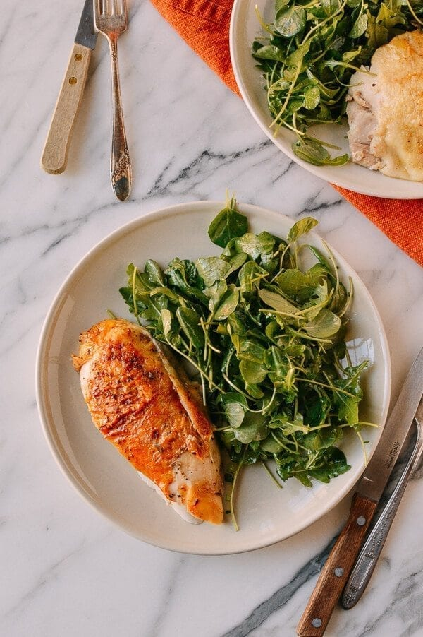 A 2-Part Recipe: Roast Chicken & Stock, by thewoksoflife.com