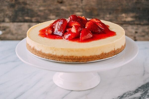 Strawberry Cheesecake, by thewoksoflife.com