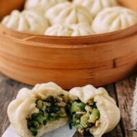 Steamed Vegetable Buns
