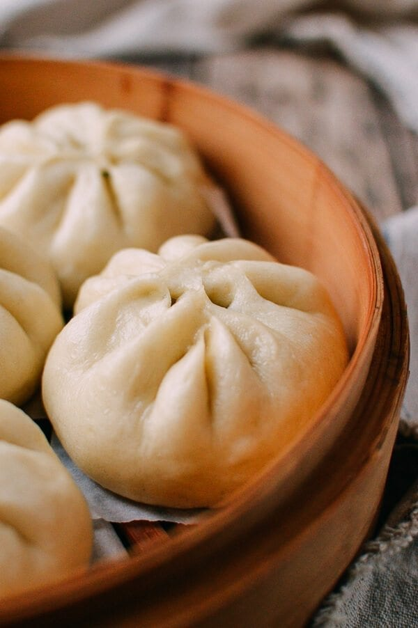 Steamed Vegetable Buns, by thewoksoflife.com