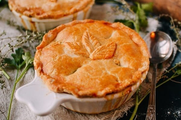 Chicken Pot Pie, by thewoksoflife.com