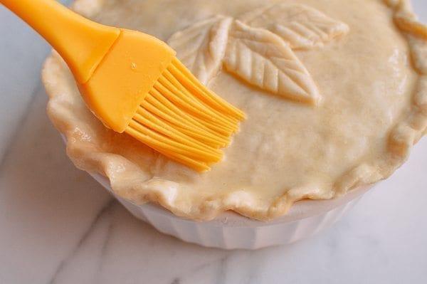 Chicken Pot Pie, by thewoksoflife.com