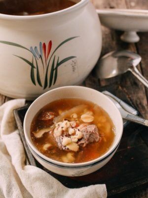 Ching Po Leung Cantonese Herb Pork Bone Soup, by thewoksoflife.com