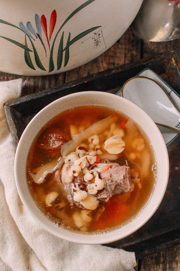 Ching Po Leung Cantonese Herb Pork Bone Soup, by thewoksoflife.com