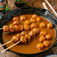 Hong Kong Curry Fish Balls, by thewoksoflife.com