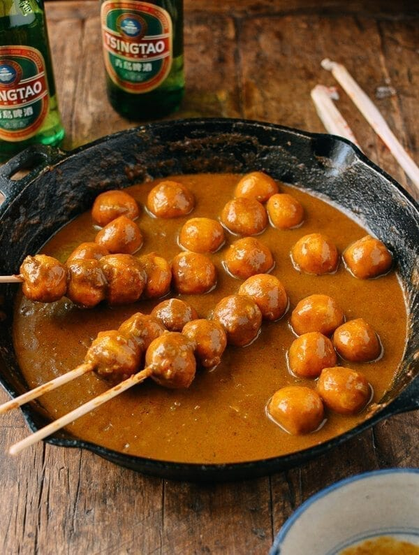 Hong Kong Curry Fish Balls
