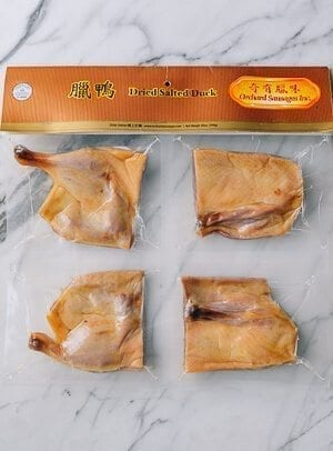 dried salted duck