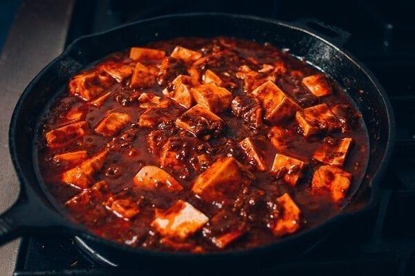 Cheat's Mapo Tofu, by thewoksoflife.com
