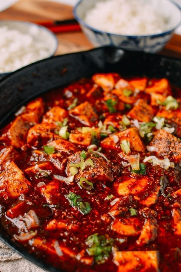 Cheat's Mapo Tofu, by thewoksoflife.com