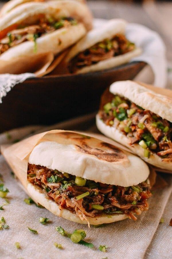 Chinese Hamburger, Rou Jia Mo 肉夹馍, by thewoksoflife.com