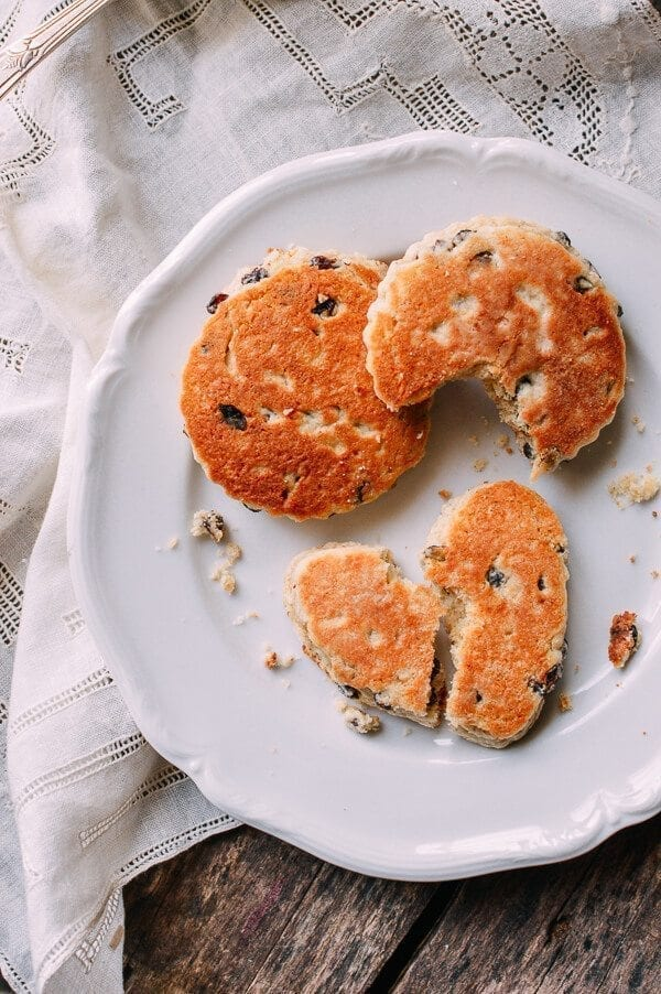 Welsh Cakes, by thewoksoflife.com