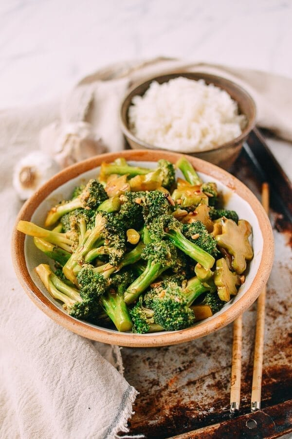Takeout-Style Broccoli with Garlic Sauce, by thewoksoflife.com
